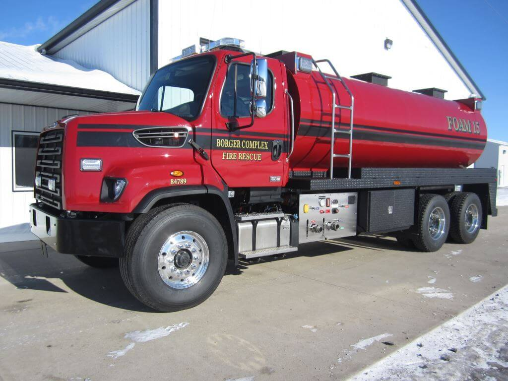 Industrial Foam Tender Tanker
