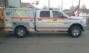 Responder truck built by Osco Tank & Truck Sales