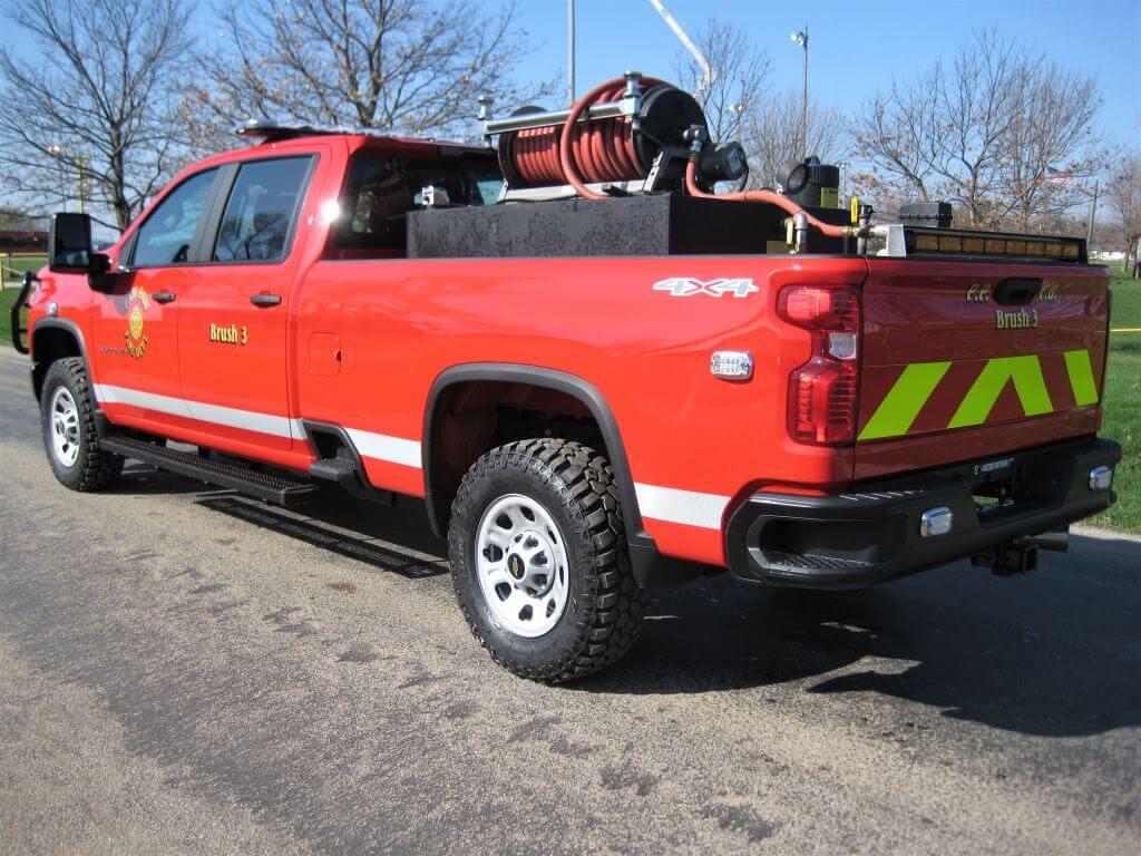 Osco Tank & Truck Sales brush truck