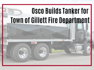 Osco Tank & Truck Sales Commander Tanker with black cab