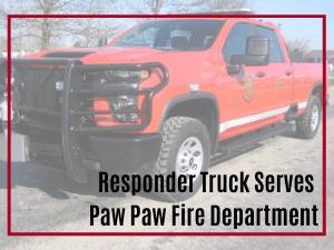 Paw Paw Responder Truck