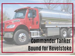 Revelstoke Commander Tanker