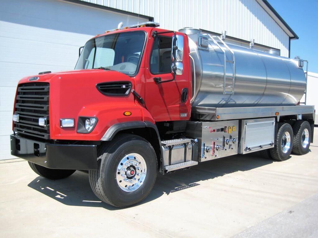 Fusion foam tanker from Osco Tank & Truck Sales
